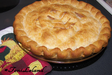 Homemade apple pie by Toni Leland