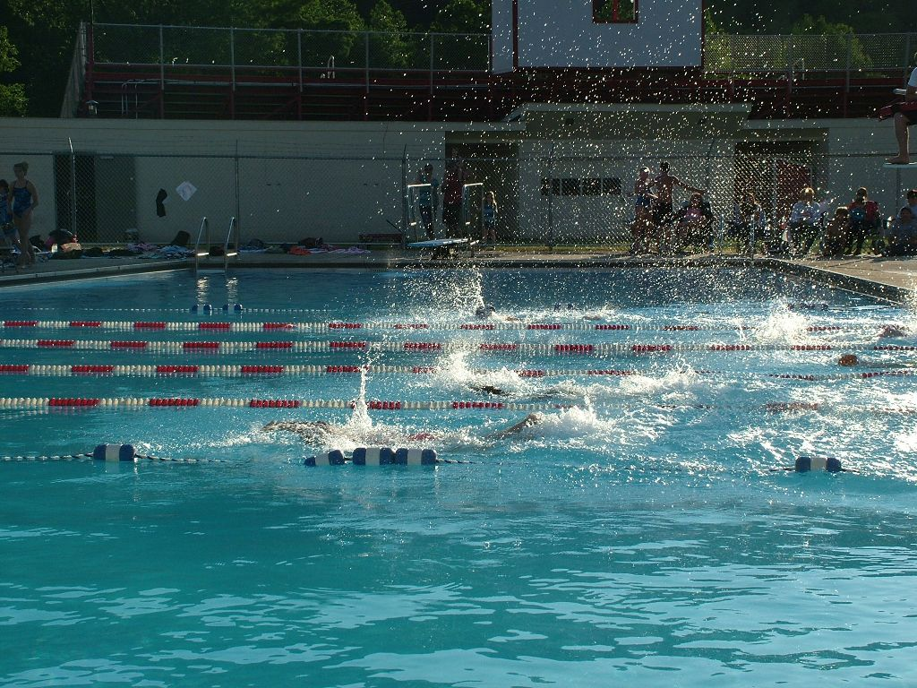 Cameron County Pa News Night Swim At Cchs Pool