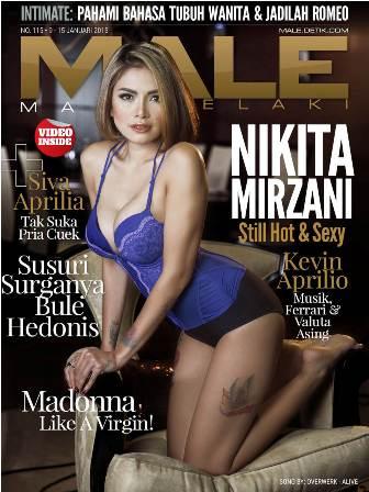 Download Gratis Majalah MALE Mata Lelaki Edisi 115 Cover Model Nikita Mirzani| MALE Mata Lelaki 115 Indonesia | Cover MALE 115 Nikita Mirzani dan Siva Aprilia | www.insight-zone.com