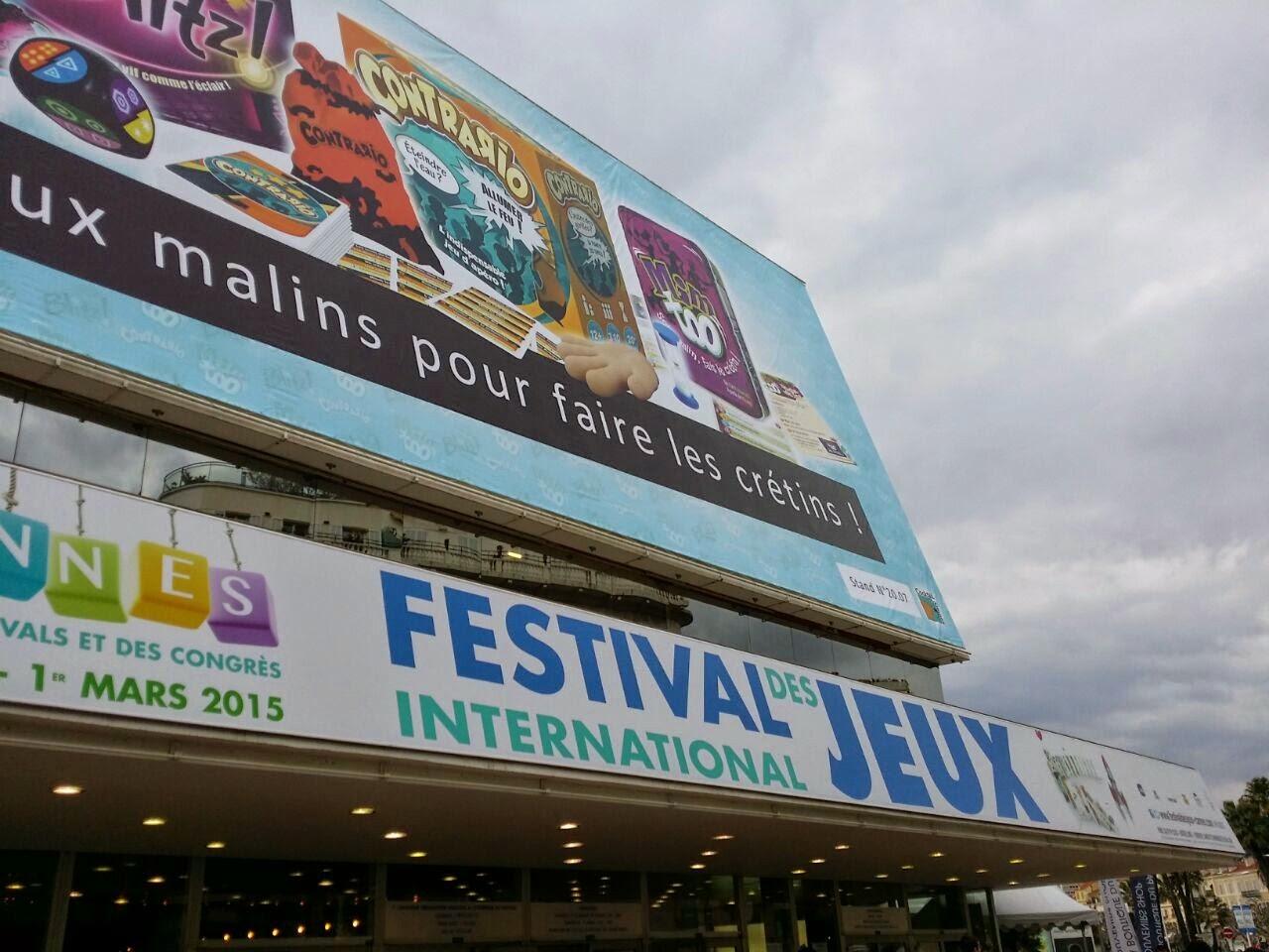 [REPORTAGE] Festival International Des Jeux 2015