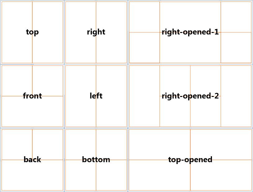 How To Design Magic Folding Cube Magic Folding Cube Tempalte