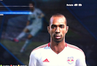 PES 2013: MLS option file New York Red Bulls Henry