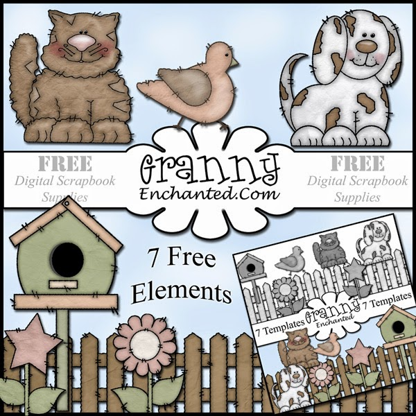bumpkins from the template pack  153+FreebieElements+Granny+Enchanted
