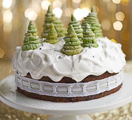 El pastel del bosque encantado