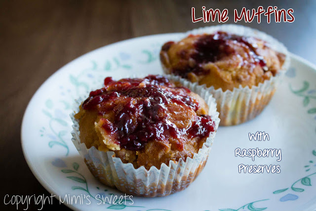 Lime Muffins