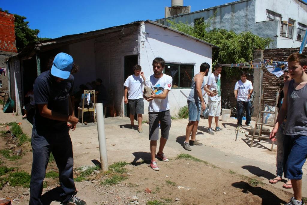 Jornada Solidaria en Villa Jardín