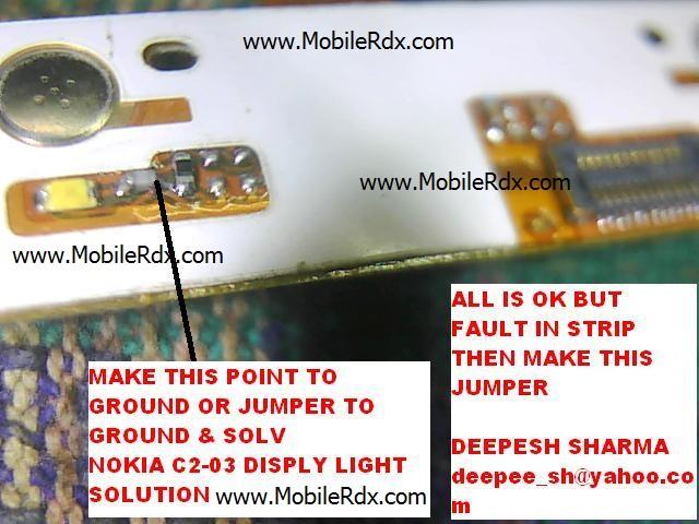 Nokia C2-03 Lcd Light Problem640