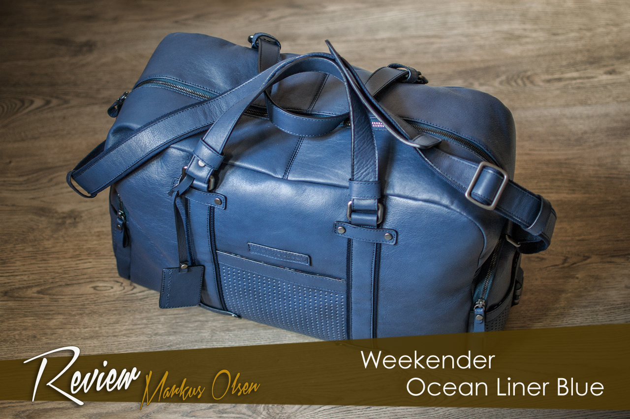 Review weekender Ocean Liner Blue de Markus Olsen.