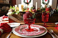 Romantic England Christmas table II...