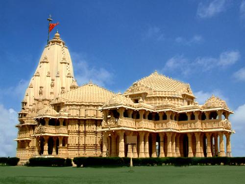 Mirror Online Somnath Temple Gujrat