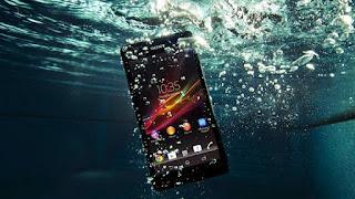 smartphone masuk air