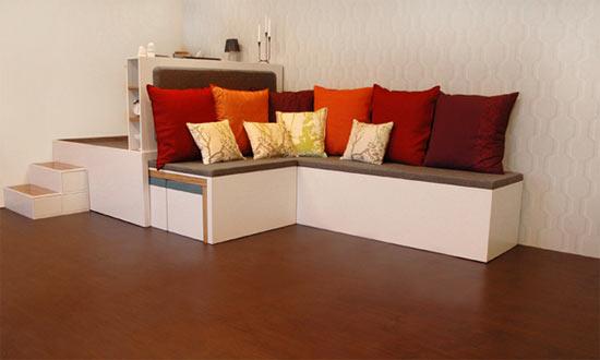 El otro mueble mas ideas para espacios peque os for Diseno de libreros para espacios pequenos