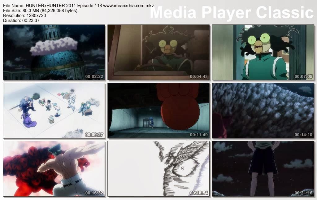 """Download Film / Anime Hunter x Hunter 2011 Episode 118 """"Kemarahan dan Kepalsuan"""" Bahasa Indonesia"""