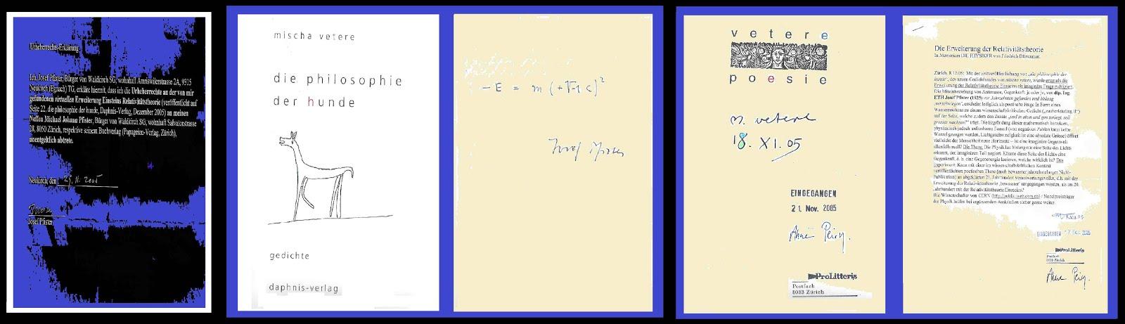 josef pfister bei prolitteris 2005 hinterlegte formel der erweiterUNg der relativitätstheorie ch