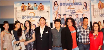 Latest Upcoming Movie Housefull 2 first look launch Photos