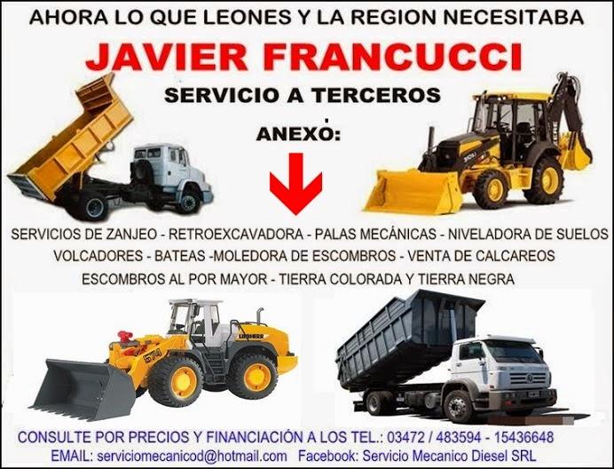 ESPACIO PUBLICITARIO: JAVIER FRANCUCCI