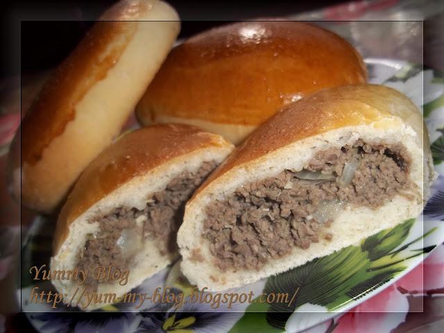 Пирожки с ливерной колбасой рецепт с фото