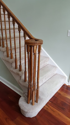 Staircase Treads, Posts, Railings n Balusters Renovation - Piscataway, NJ (1)
