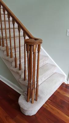 Staircase Treads, Posts, Railings n Balusters Renovation - Piscataway, NJ (1)