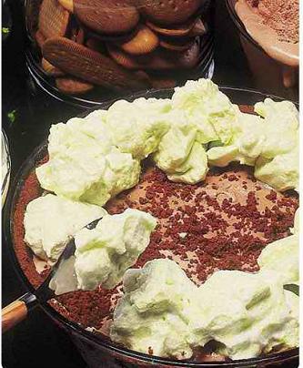 Torta gelada de Menta
