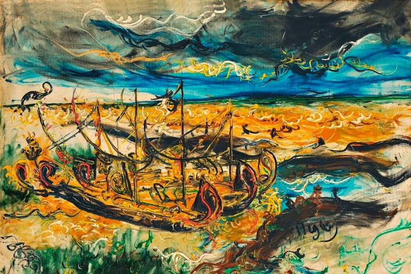 Affandi, the maestro of expressionist painter from Indonesia