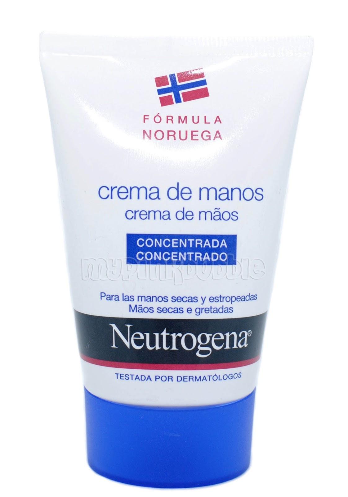 crema manos Neutrogena