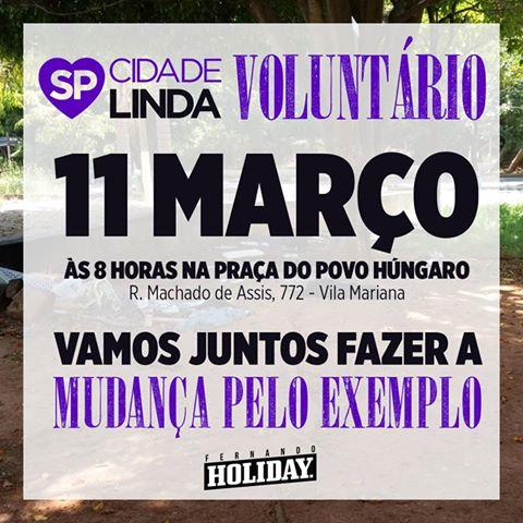 11 de março, 8h: São Paulo