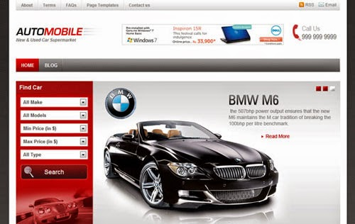 Automobile Templatic Wordpress Theme Version 1.2.2 free
