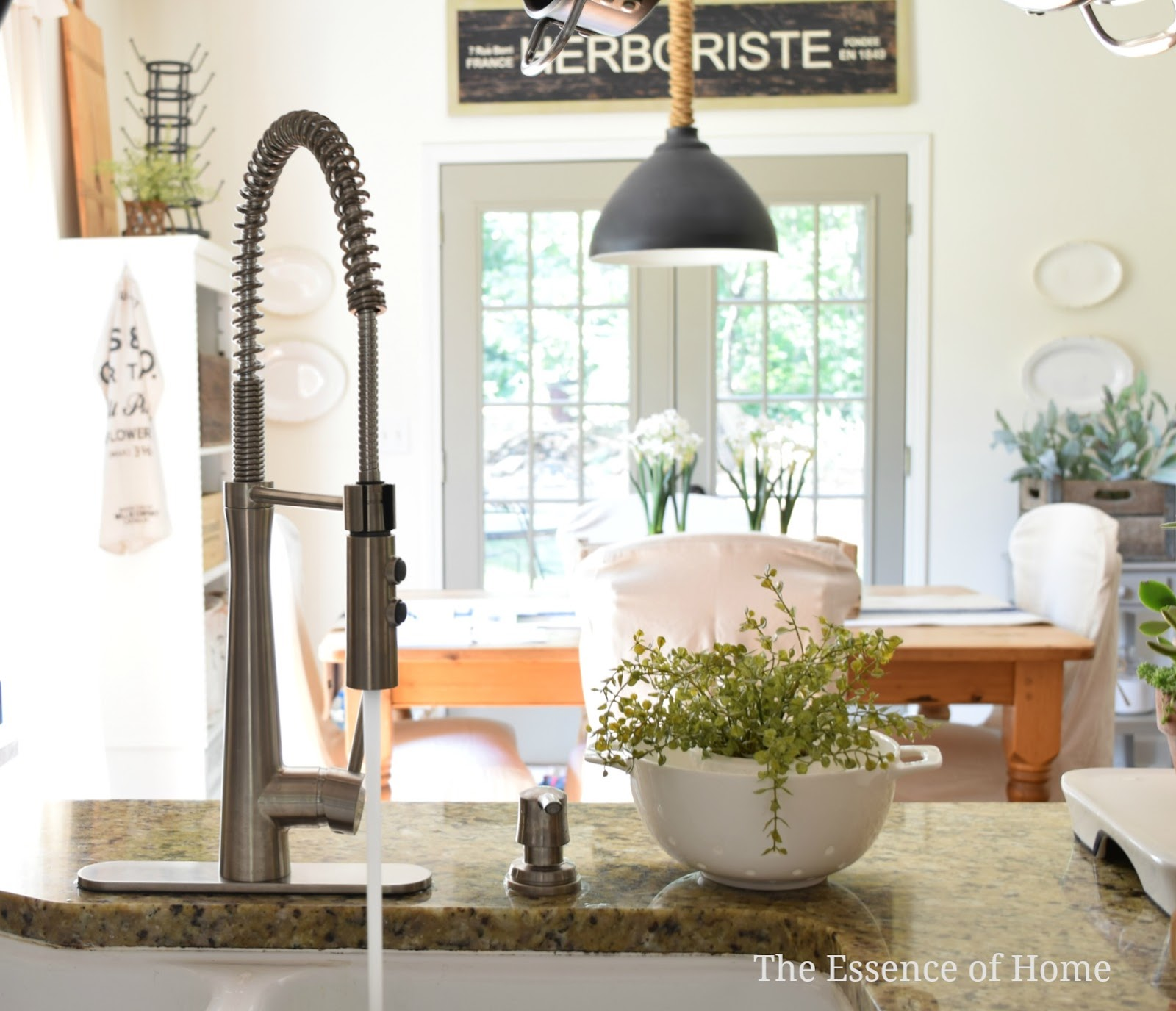 The Essence of Home: Industrial Style Faucet
