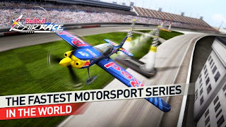 Screenshots of the Red Bull Air Race for Android tablet, phone.