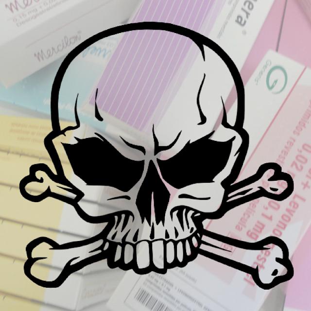 Os riscos dos anticoncepcionais orais combinados (pílula)