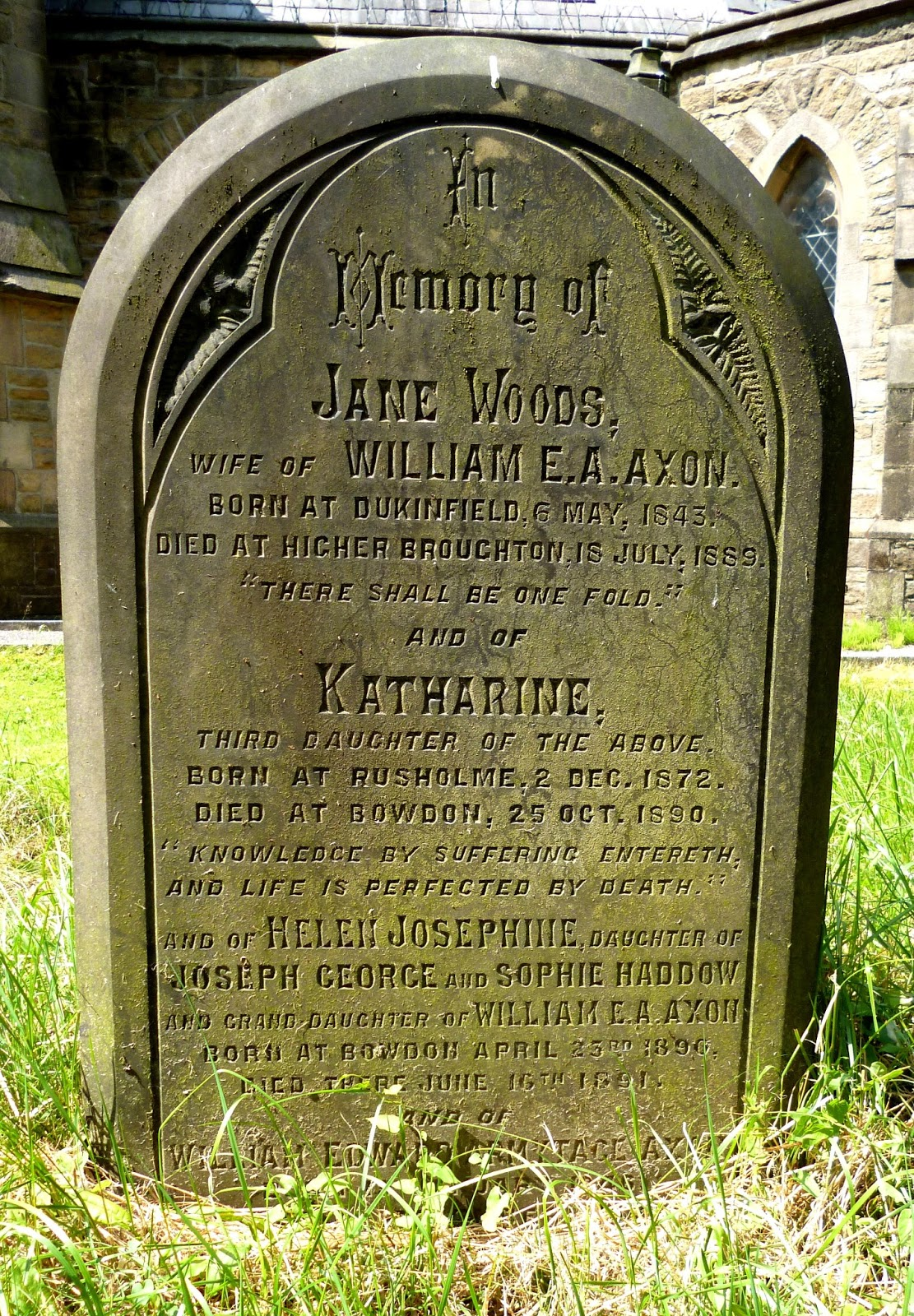 Dr Tony Shaw: William Edward Armytage Axon: St Paul\'s, Kersal Moor #4