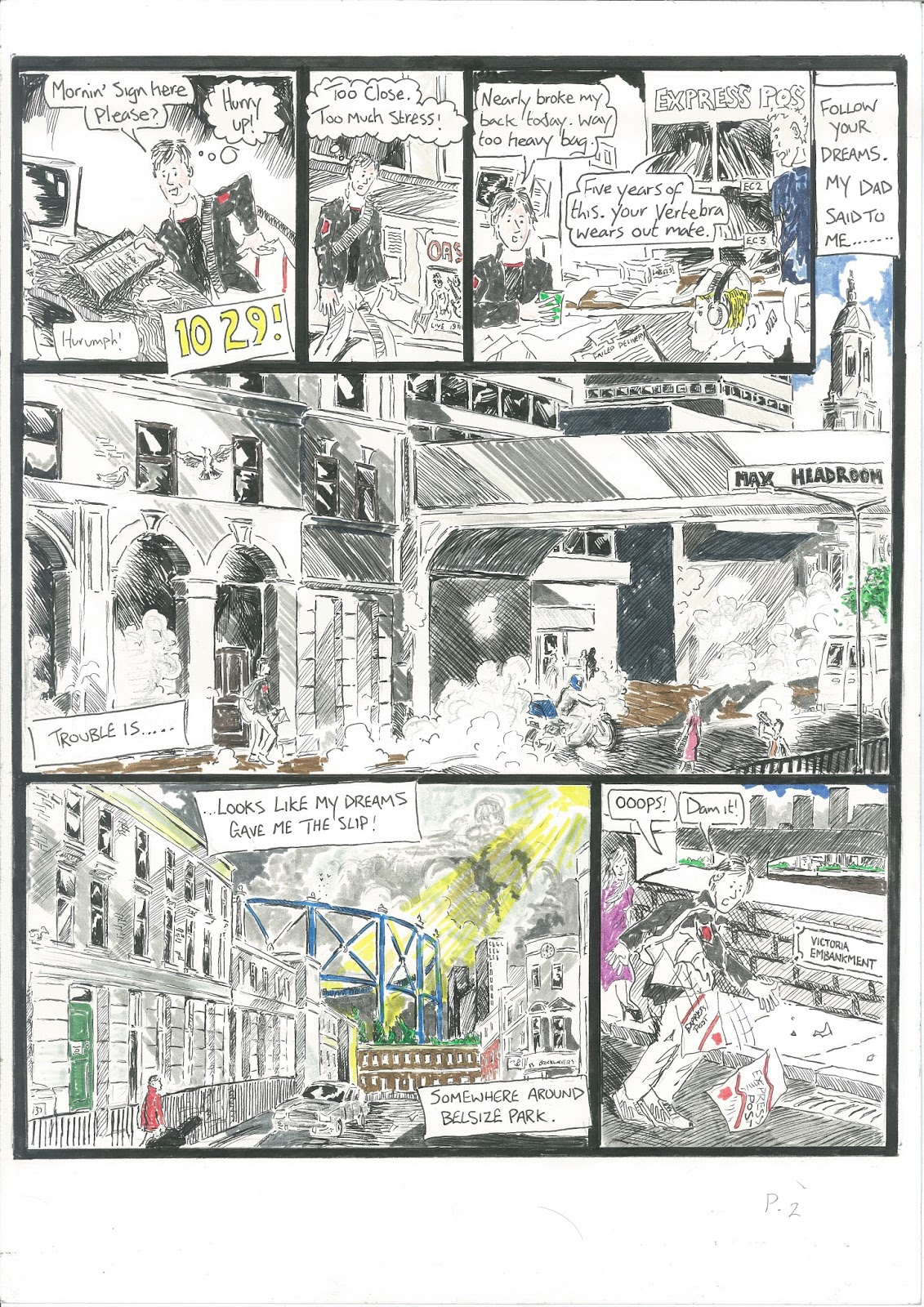 jonathan cape graphic story competition entry danny nichols graphic novels etc