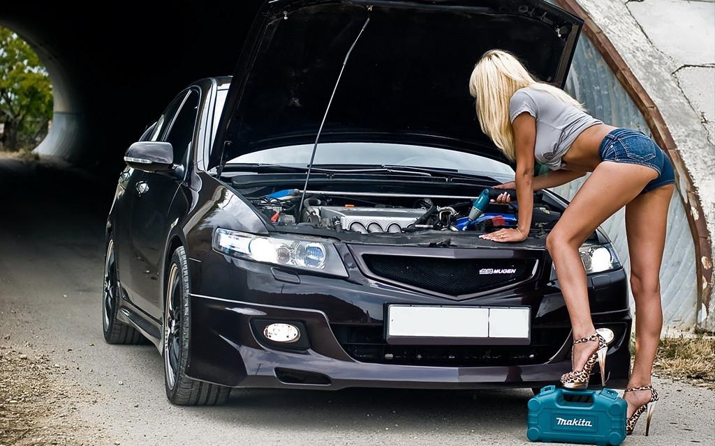 japońskie samochody, dziewczyny, zdjęcia, girls, cars, acura, honda