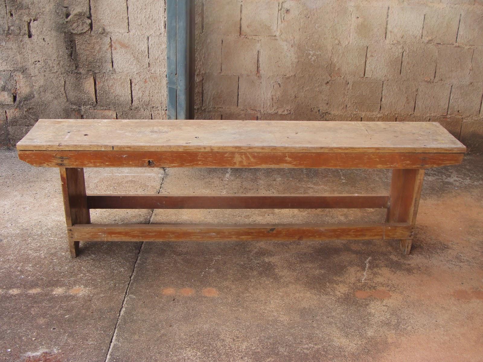 Ambiente Bariri: Reforma em banco de madeira #8D633E 1600x1200