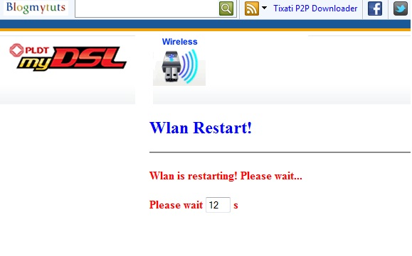 How to change password on PLDT my DSL PROLiNK ADSL WiFi Router