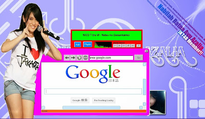 Download Mini Browser + MP3 Player Versi Nabilah JKT48 -Portable Version