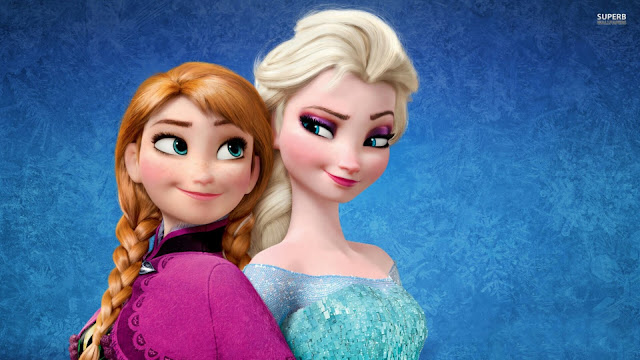 Frozen, Elsa and Anna