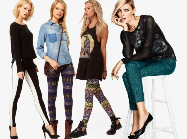 LadySpace: What to wear with leggings