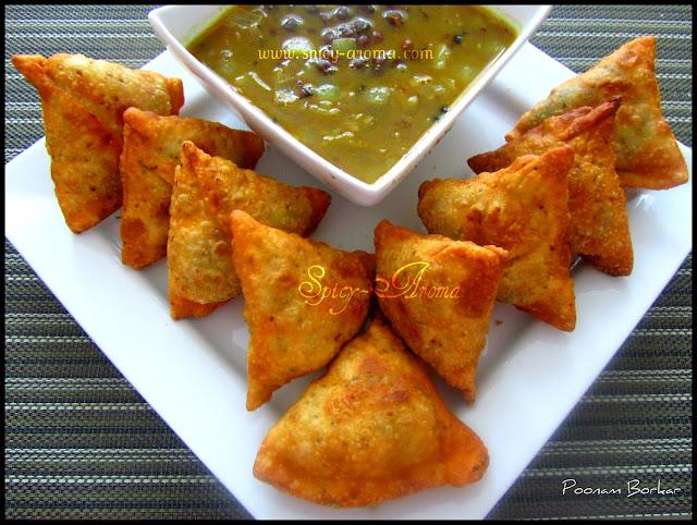 Aloo Samosa / Samosa Recipe | Spicy-Aroma