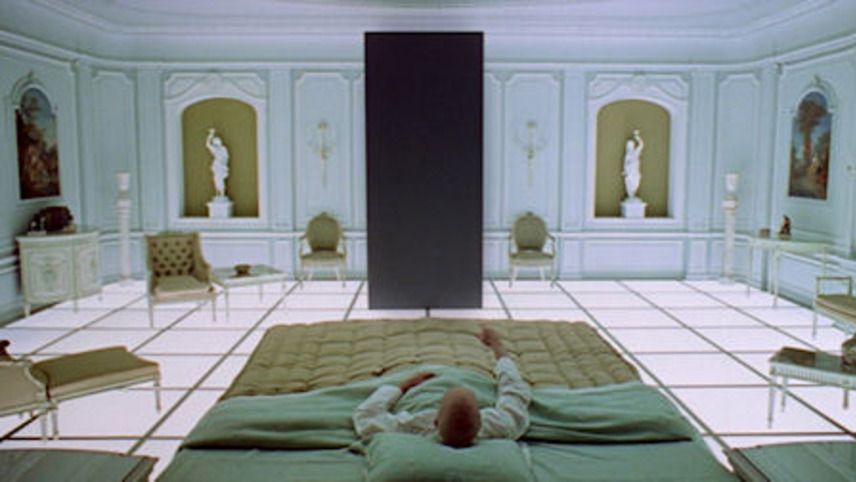 To da loos jonathan adler bathroom design based on a movie for Bedroom 2001 space odyssey