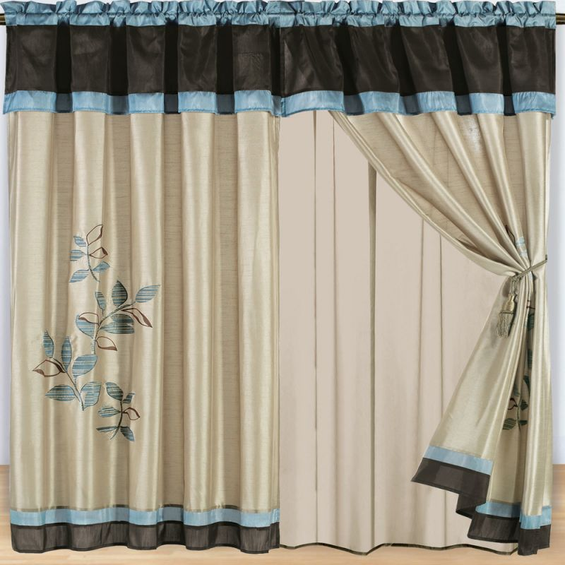 New home designs latest home curtain designs ideas - Latest curtain designs for windows ...