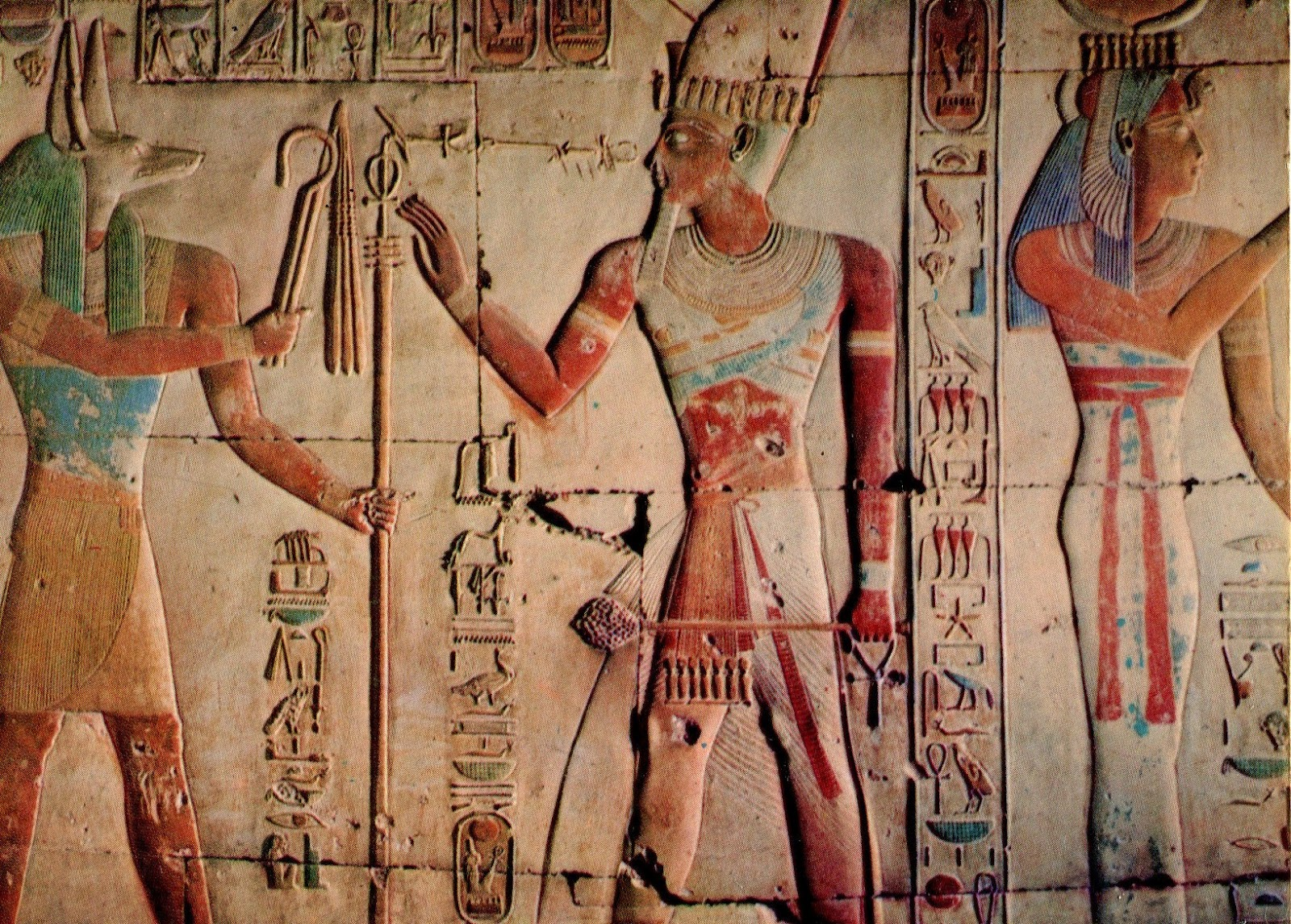 bennubirdrising murals from ancient egypt