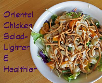 Imitation by Design: Lighter Oriental Chicken Salad
