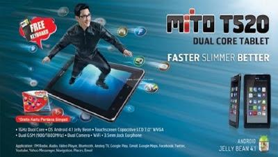 Mito T520 Harga dan Spesifikasi