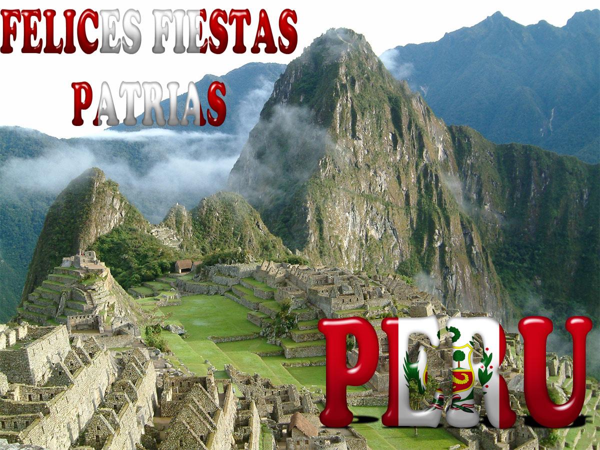 FIESTAS PATRIAS EN PERÚ 2013 !!!