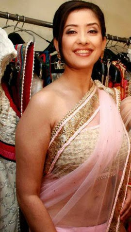 Manisha Koirala in saree