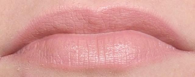 MUA bare lipstick swatch