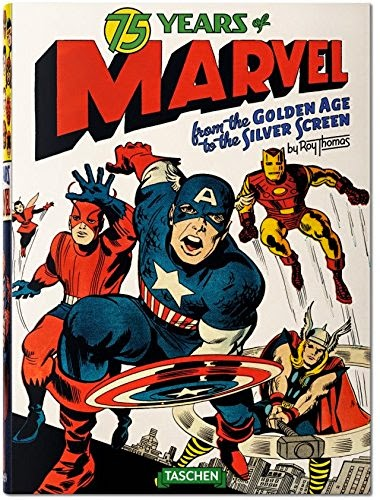 75 Years of Marvel Comics,book