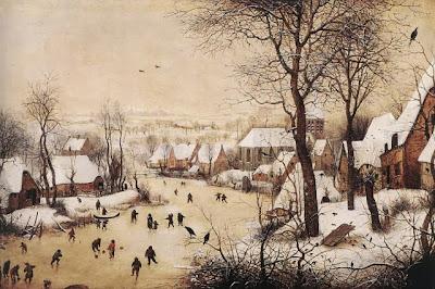 Pieter Brueghel l'ancien - Paysage d'hiver,1565.
